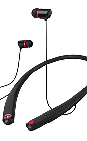 Bezprzewodowy zestaw stereo stereofoniczny zestaw słuchawkowy z atrakcyjnym magnesem i elastycznym materiałem do projektowania iosów i