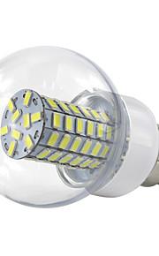 4.5W B22 LED-globepærer 69 SMD 5730 420 lm Varm hvit Kjølig hvit V 1 stk.