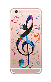 For Case Cover Ultra Thin Pattern Back Cover Case Word  Phrase Soft TPU for iPhone 7 Plus  7  6s Plus 6 Plus SE 5S 5