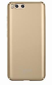 mi 6 5s 5s plus 울트라 얇은 서리 낀 케이스 뒷 커버 케이스 단색 하드 디스크 (레드 미 노트 4 주 4x)