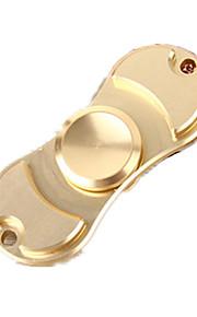 Fidget spinners Hilandero de mano Juguetes Dos hilanderos Metal EDCAlivio del estrés y la ansiedad Juguetes de oficina Alivia ADD, ADHD,