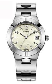 Casio Watch Pointer Series Steel Belt Fashion And Leisure Business Quartz Women's Watch LTP-1241D-7A2