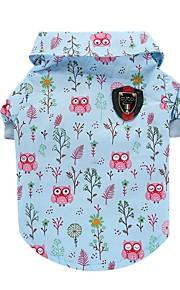고양이 개 티셔츠 조끼 강아지 의류 여름 동물 귀여운 패션 캐쥬얼/데일리