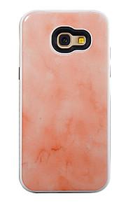 Per la galassia a samsung a5 (2017) a3 (2017) tpu più pc dijiao modello marmo due-in-one telefono a510 a310
