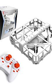 Drone M77 4 Canaux 6 Axes - Portable Quadri rotor RC Télécommande 1 × manuel utilisateur