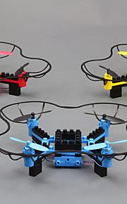 Drone T11 4 canaux 6 Axes - Eclairage LED Retour Automatique Mode Sans Tête Vol Rotatif De 360 DegrésQuadri rotor RC Télécommande 1