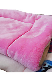 강아지 침대 애완동물 매트&패드 솔리드 버터플라이 따뜨하게 유지 더블-사이드 폴더 소프트 랜덤 색상