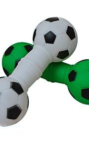 Игрушка для собак Игрушки для животных Жевательные игрушки Скрип Футбол Резина