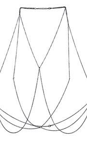 Dame Kropssmykker Krops Kæde / mavekæde Natur Venskab Boheme Stil Hip-hop Movie smykker Legering Geometrisk form Smykker ForAfslappet