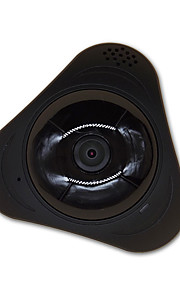 360 Degree IP Camera WIFI Panoramic VR Fisheye 960P Surveillance with TF Card Slot