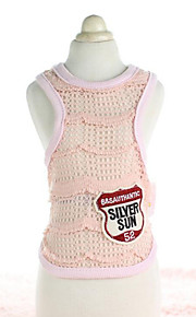 Dog Vest Dog Clothes Casual/Daily Fashion Solid