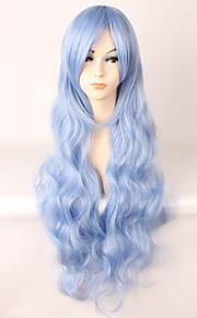 Pelucas Lolita Amaloli Azul Piscina Lolita Peluca de Lolita  85 CM Pelucas de Cosplay Pelucas Para