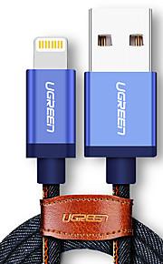 Lightning Trenzado Carga rapida Cable Para iPhone iPad