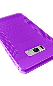 Voor Samsung Galaxy S8 Plus S8 case cover stofdichte behuizing cover solid color soft tpu s7 edge s7