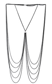 Dame Kropssmykker Krops Kæde / mavekæde Natur Venskab Boheme Stil Punk Stil Hip-hop Gotisk Legering Geometrisk form Smykker ForBryllup