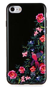 Caso para maçã iphone7 7 mais modelo de animal de flor padrão para iphone 6s mais 6 mais 6s 6