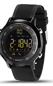 Mulheres Homens Relógio Inteligente Chinês DigitalControle Remoto Calendário Cronógrafo Impermeável Monitor de Batimento Cardíaco