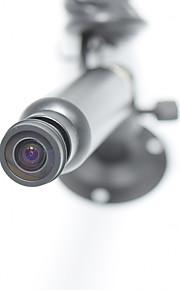 1/3 CCD 420TVL 200 Degree 1.3mm Wide Angle Fisheye Video Color Digital Mini CCD Camera CVBS Camera