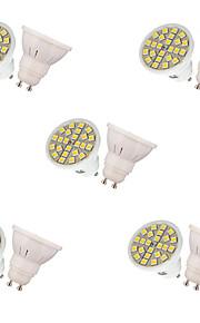 3W LED Spot Lampen MR16 24 SMD 5050 250 lm Warmes Weiß Kühles Weiß Dekorativ AC 220-240 V 10 Stück