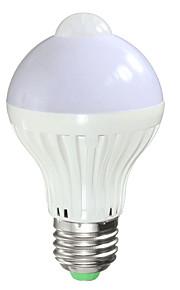 7W Smart LED Glühlampen A60(A19) 14 SMD 5730 650 lm Warmes Weiß Kühles Weiß Infrarot-Sensor Lichtsteuerung Menschlicher Körper Sensor V1
