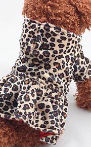 Perro Vestidos Ropa para Perro Casual/Diario Leopardo Leopardo