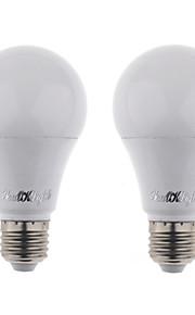 4W LED-globepærer 10 SMD 5730 350 lm Kjølig hvit AC 85-265 V 2 stk.