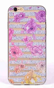 Case for iPhone 7 7 Plus Cover Translucent Pattern Back Cover Case Flower Soft TPU for iPhone 6 6S 6S Plus 5S 5 SE