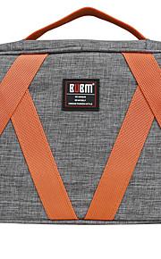 Bolsa para Adaptador de corriente Memoria USB Disco duro Batería Ratón Auriculares Color sólido Lienzos Material