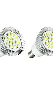 3W LED Spot Lampen 16 SMD 5630 260-300 lm Warmes Weiß Weiß AC 220-240 V 2 Stück
