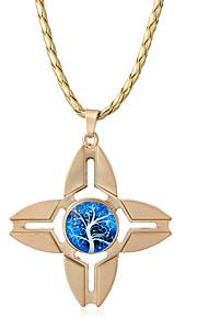 Dame Halskædevedhæng Opal Stjerneformet Legering Unikt design Hængende Euro-Amerikansk Smykker Til Hverdag Afslappet