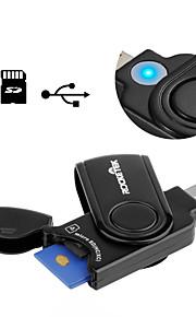 SD/SDHC/SDXC MicroSD/MicroSDHC/MicroSDXC/TF USB 3.0 USB Kaartlezer