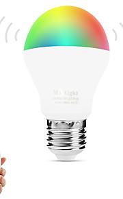 6W Slimme LED-lampen A60 (A19) 14 SMD 5050 600 lm Warm wit RGB Dual Lichtbron KleurInfrarood Sensor Dimbaar Op afstand bedienbaar WiFi