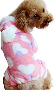 Hund Overall Hundekleidung Lässig/Alltäglich Herzen