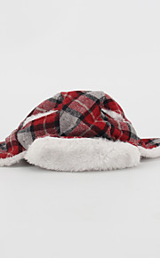 Dog Bandanas & Hats Dog Clothes Christmas Solid Blushing Pink Ruby