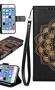 Case for Apple iPhone 7 7 Plus iPhone 6s 6 Plus Case Cover The Mandala Pattern PU Leather Cases for iPhone 5s 5 SE