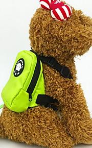 Kot Pies pakiet dla psów Zwierzęta domowe Torby Przenośny Oddychający Jendolity kolor Orange Czerwony Green