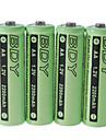 oppladbare batterier aa