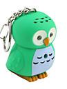 pöllö avaimenperä LED taskulamppu ja äänitehosteet