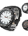 V6® Men's New Stylish Black Silicone Sport Wrist Watch  Cool Watch Unique Watch Fashion Watch