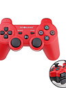 GOiGAME Wireless Two-Tone Controller for PS3 (Red + Black)