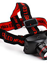 Lights Headlamps LED 800 Lumens 3 Mode Cree XR-E Q5 AAA Aluminum alloy