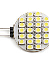 1.5W G4 Spot LED 24 SMD 3528 60 lm Blanc Naturel DC 12 V