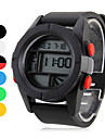 Unisex Rubber Digital Automatic Wrist Watch (Assorted Colors) Cool Watch Unique Watch Fashion Watch
