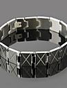 le bracelet en acier inoxydable de eruner®men (argent)