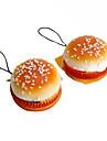 Hamburger douce en forme de porte-cles (couleurs aleatoires)