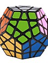 mf8 십이 면체 megaminx 타일 퍼즐 큐브 (검은 색)