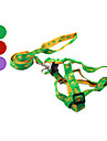Footprint Nylon Dog Harness Kit with 120CM Leash (Assorted sizes, Assorted Colors)
