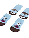Socks & Boots for Dogs Blue Spring/Fall Cotton