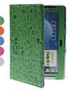 PU beschermende case hoes met standaard voor Samsung Galaxy Note N8000 10,1