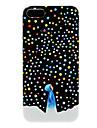 """Жесткий чехол """"Разноцветный снег"""" для iPhone 5"""